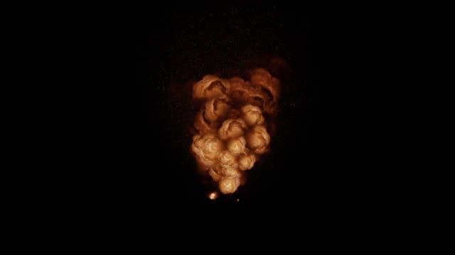 CG Explosion + Alpha video