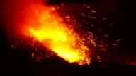 Explosions spark metal video