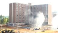 Explosive Building Demolition video