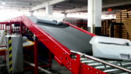 express delivery sorting assembly line video