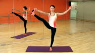 Extended Hand to Big Toe Pose video