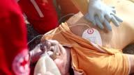 External heart massage by medical emergency team video