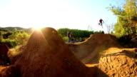 Extreme BMX Bike Tailwhip (Slow Motion) video