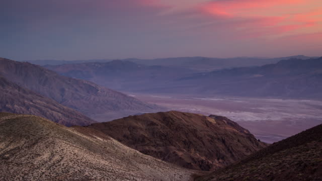 Extreme Death Valley Landscape - Time Lapse video