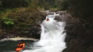 Extreme kayaking in Veracruz, Mexico video