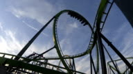 Extreme Rollercoasters HD video