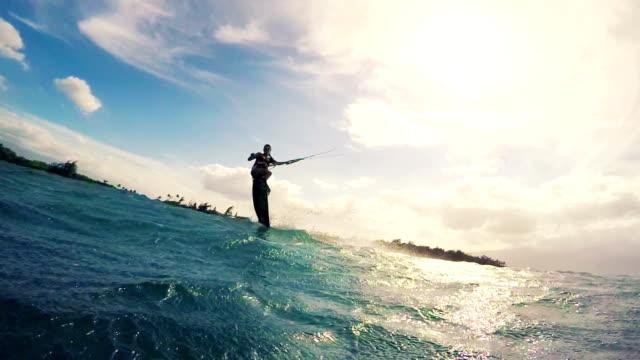 Extreme Sport Kitesurfing. video