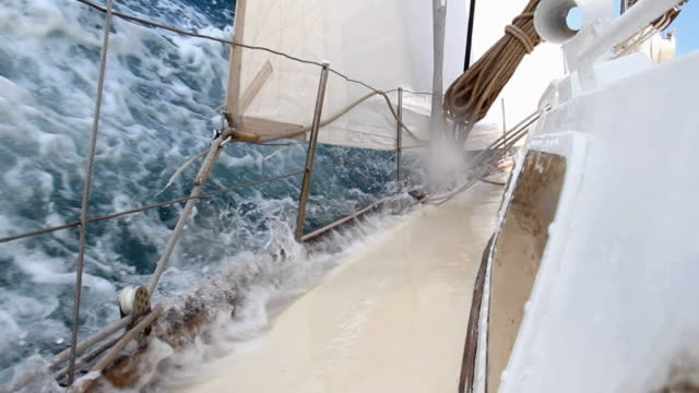 Extreme sports - yachting video