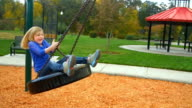 Extreme tire swinging video