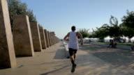 Extreme urban sport video