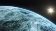 Extremely realistic and detailed earth zoom video