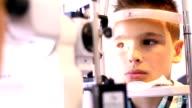 Eye exam. video