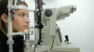 Eye examination with technology video