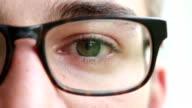 Eye eyewear. video