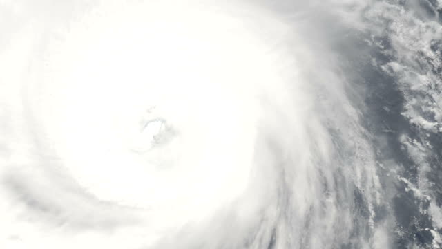 Eye of a cyclone video