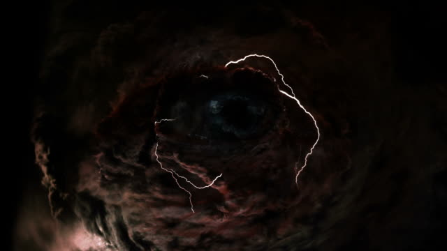 eye of a storm video