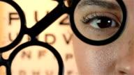 Eye test concept video