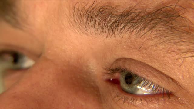 Eyes of a man video