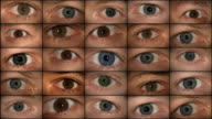 Eyes watching (HD 1080) video