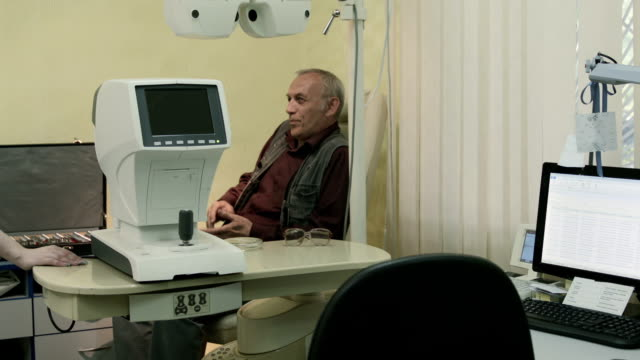 Eyesight test procedure video