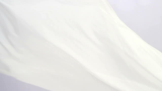 HD fabric blowing in the wind, abstract background video
