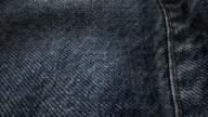 Fabric denim texture waveing background video