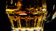 Faceted Glass with Beer video