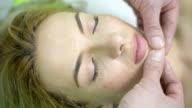 Facial massage video