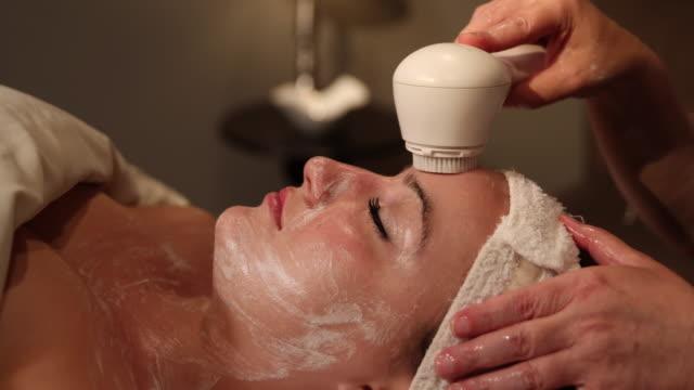 Facial Scrubbing Medium Dolly video