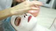 facials at beauty salon video