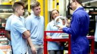 Factory Apprentice Program video