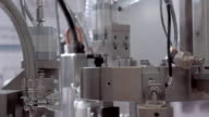 Factory automation equipment in the work video