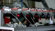 Factory equipment video