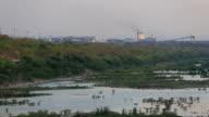 Factory smoke video