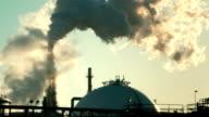 Factory Smokestack #2 1080p HD video