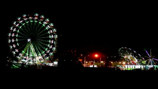 Fair at night in delhi video