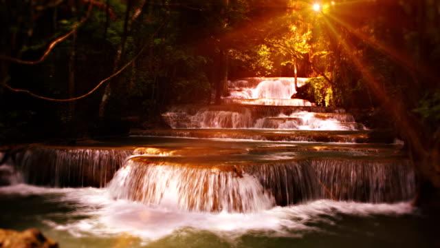 Fairy waterfall video