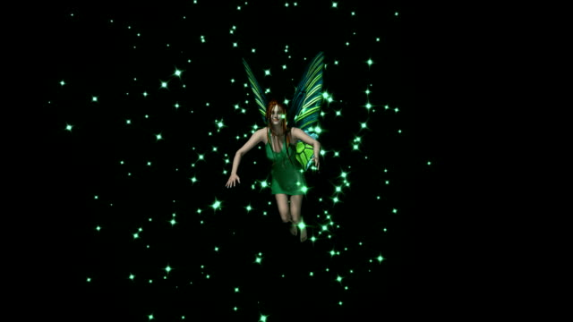 Fairy with Alpha Channel HD1080 video