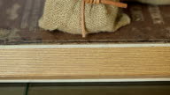 Fake mini tree on the book for decorative items shop video