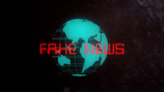 Fake News Title in a Retro Look video