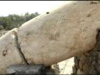 Fallen Roman Pillars video