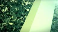 Falling alphabets video