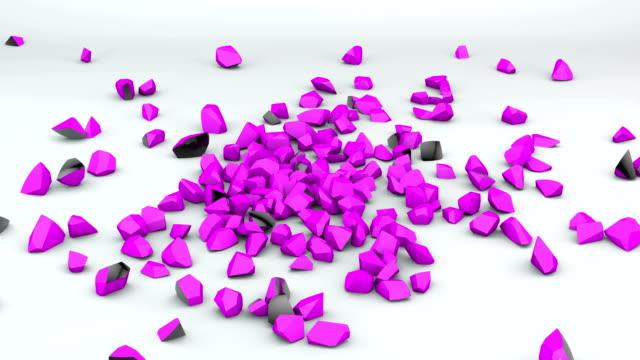 Falling Black and Purple Sphere video