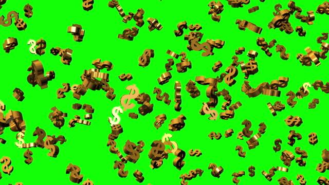 Falling Dollars - HD1080 video