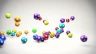 Falling Lotto Balls video
