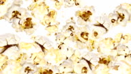 Falling Popcorn as background video (with Alpha) video