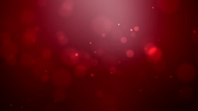 Falling Red Particles Loopable video