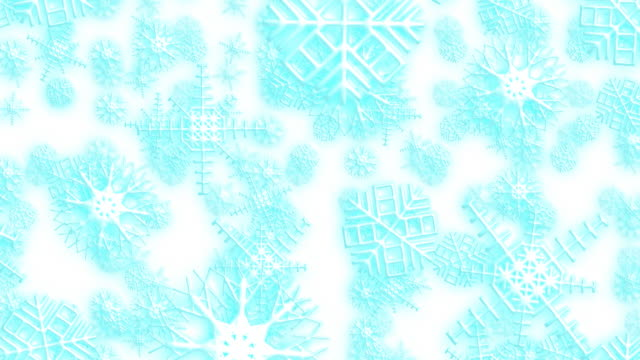 Falling snow loopable back ground video