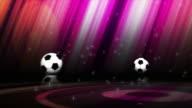 Falling Soccer Balls, (3 Variations), 4k video