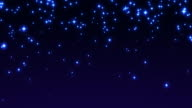 Falling Stars HD Background video
